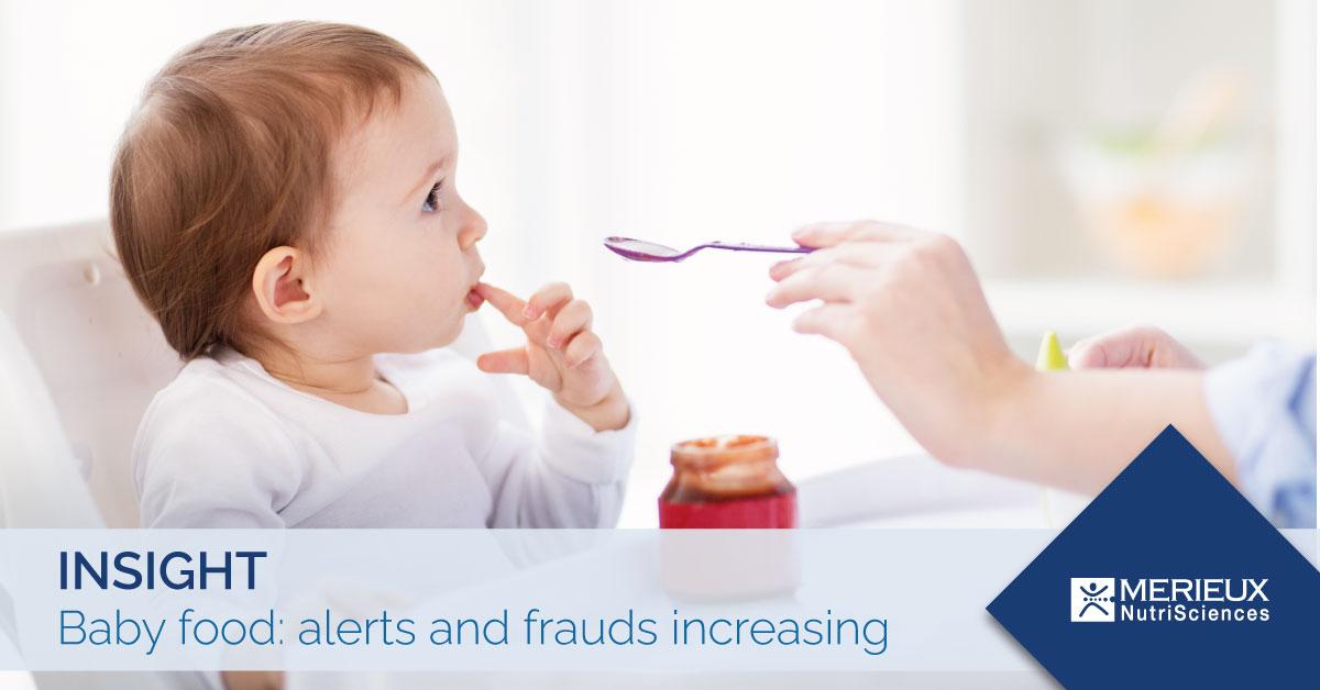 Baby food alerts and frauds increasing