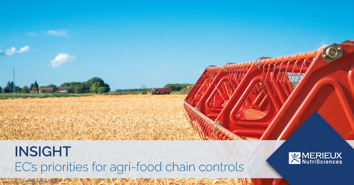 EC's priorities for agri-food chain controls