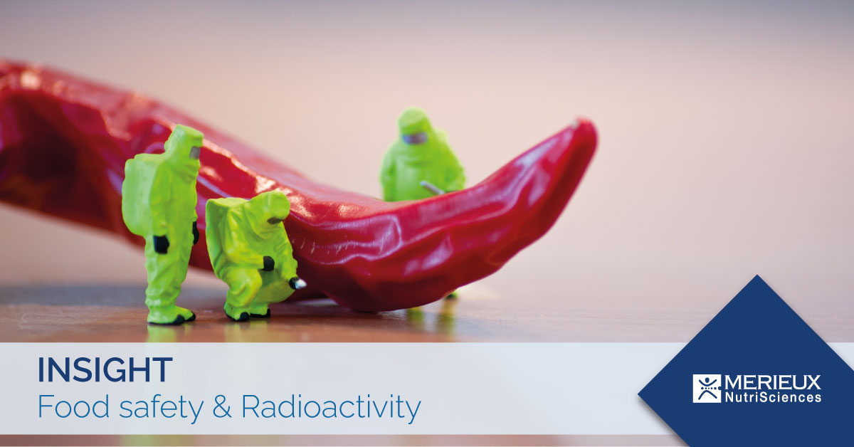 radioactibity in food safety