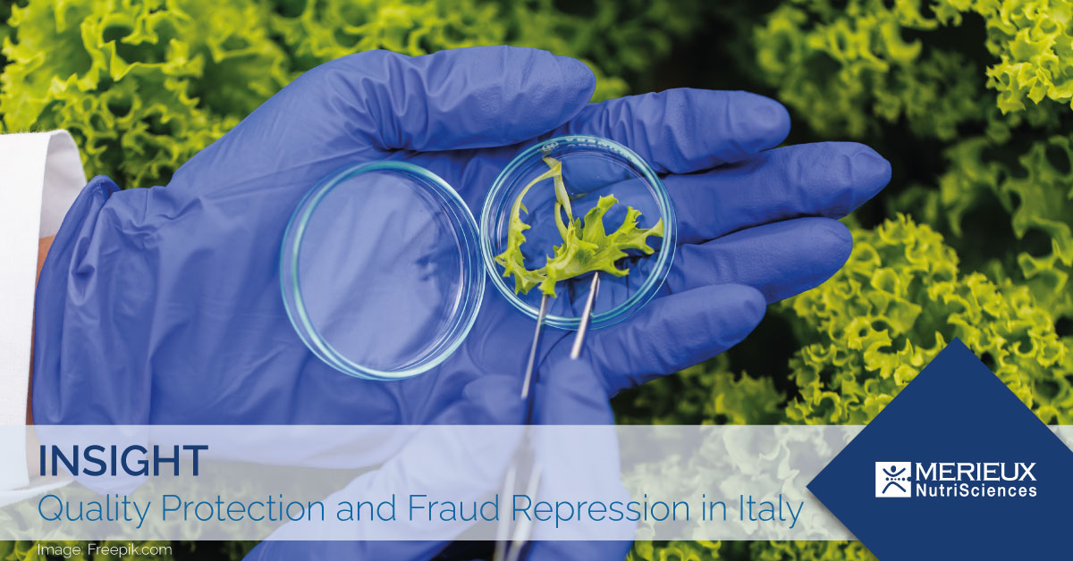 quality protection and fraud repression italy
