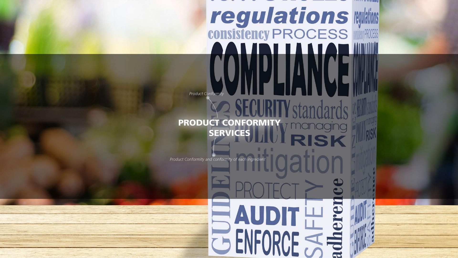 Mérieux NutriSciences-labeling and Regulatory-Product Conformity