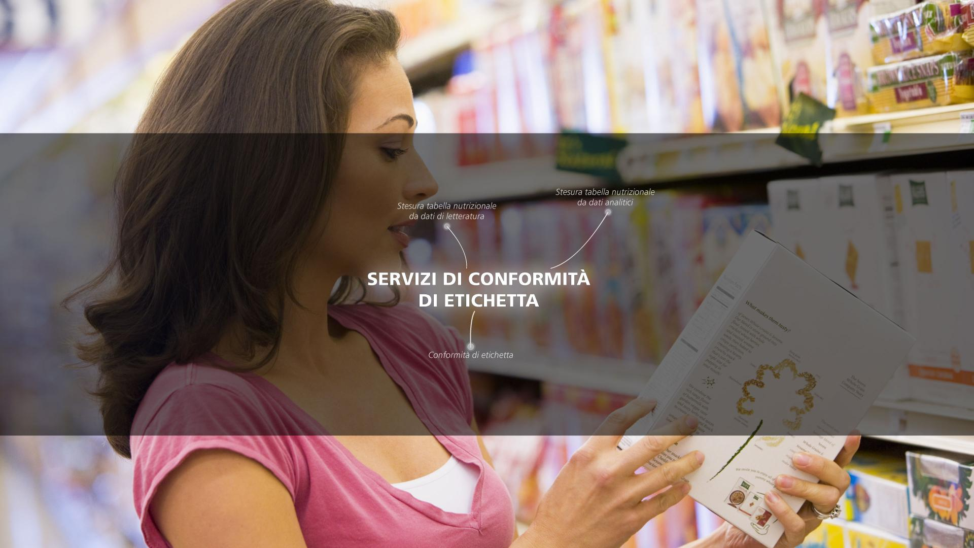 Mérieux NutriSciences - Labeling and Regulatory - Stesura tabella nutrizionale da dati analitici