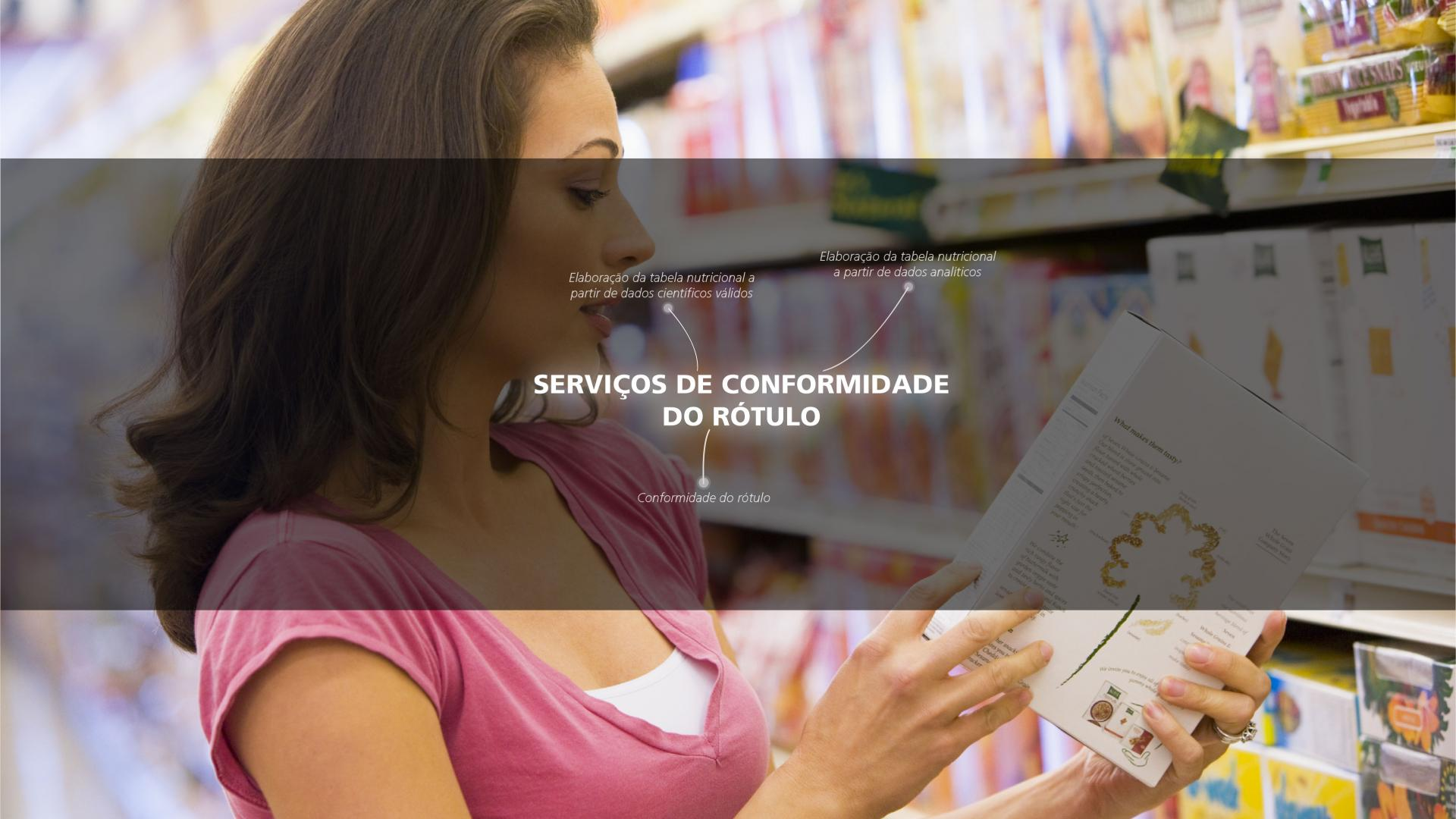 Mérieux NutriSciences - Labeling and Regulatory -SERVIÇOS DE CONFORMIDADE DO RÓTULO - PL