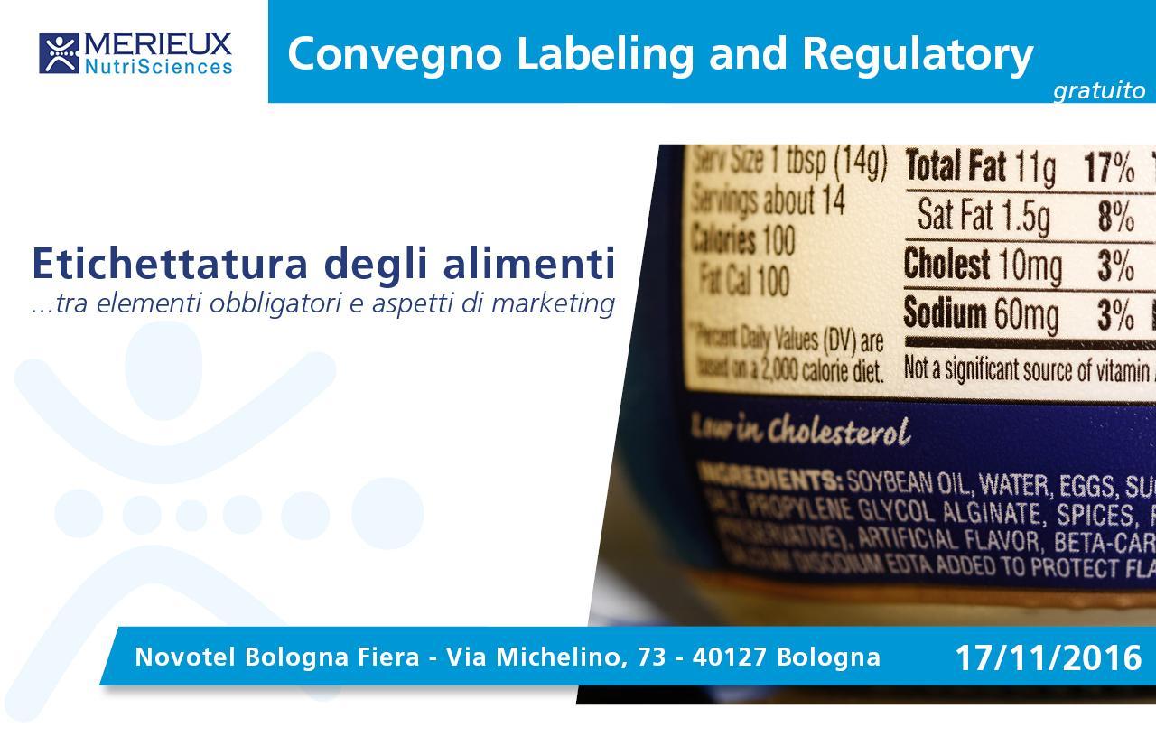 Mérieux NutriSciences Free Seminar Bologna