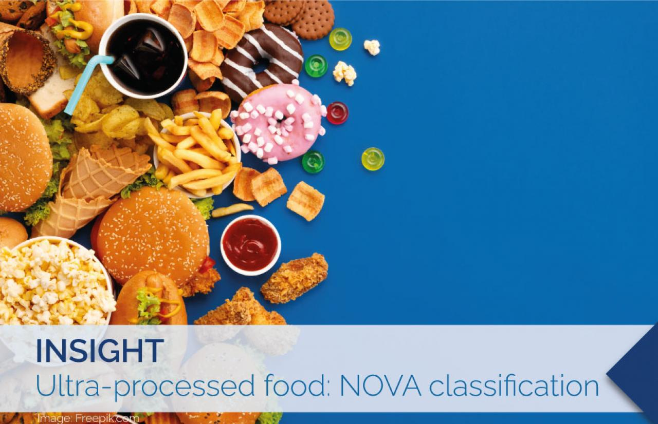 Ultra processed food NOVA calssification